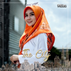 Shawl Premium The City 02