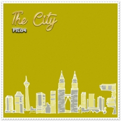 Shawl Premium The City 04