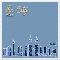 Shawl Premium The City 05