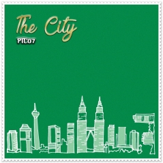 Shawl Premium The City 07