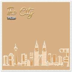 Shawl Premium The City 09